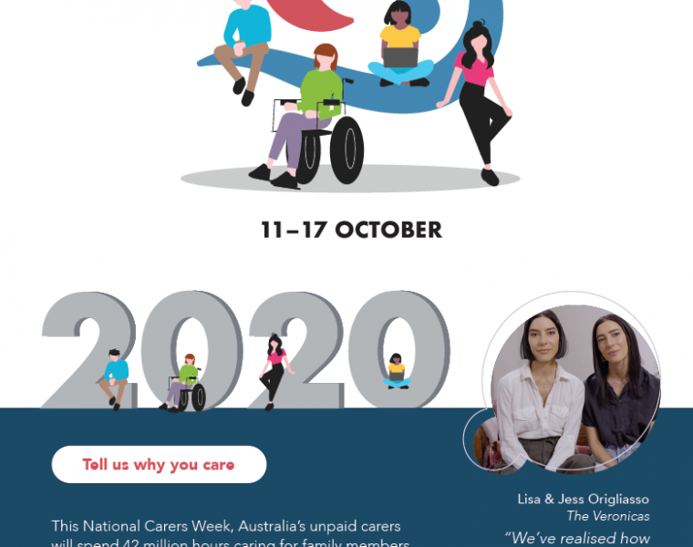 National Carers Week poster